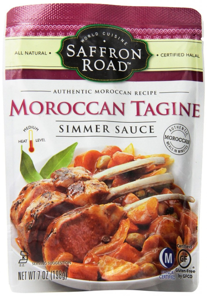 Moroccan tagine simmer sauce