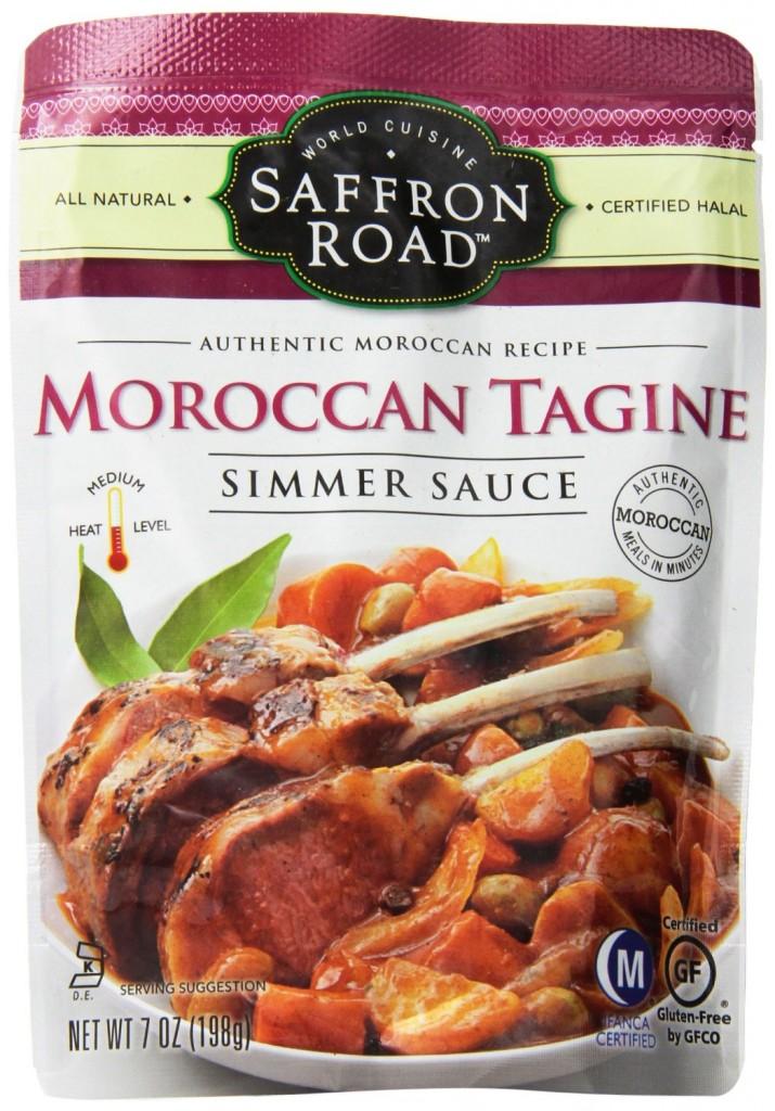 Moroccan tagine simmer sauce