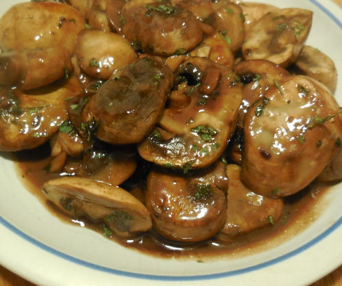 Sauteed Mushrooms Sauce