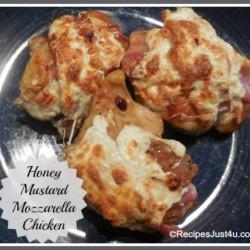 Honey Mustard Mozzarella Chicken