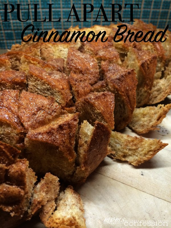 Cinnamon Pull Apart Bread from momsconfession.com