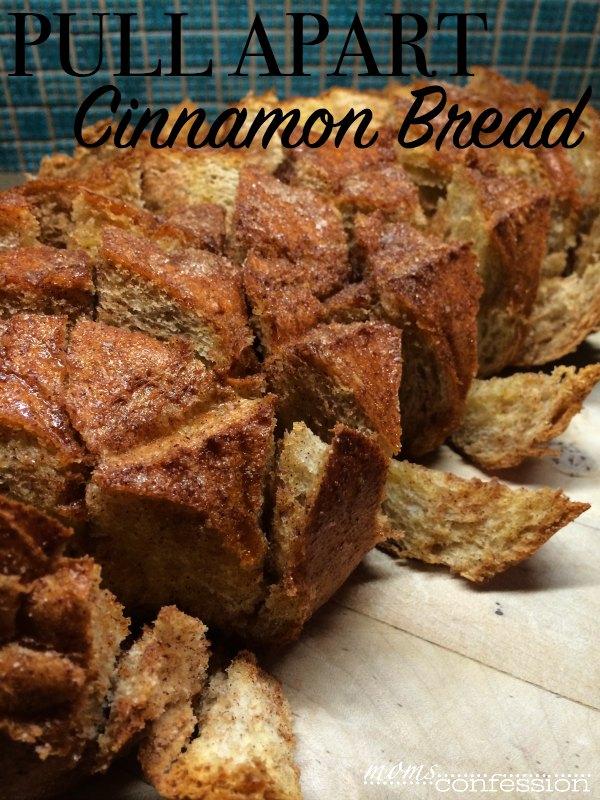 Cinnamon Pull Apart Bread from momsconfession.com