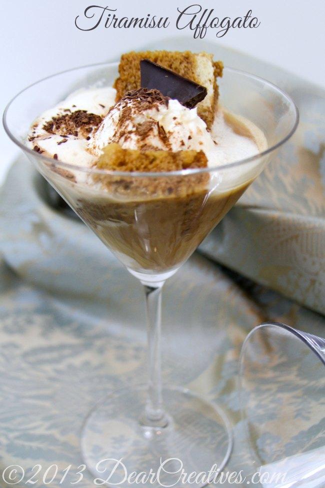 Tiramisu Coffee dessert from dearcreatives.com