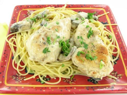 Easy weeknight chicken scallopine