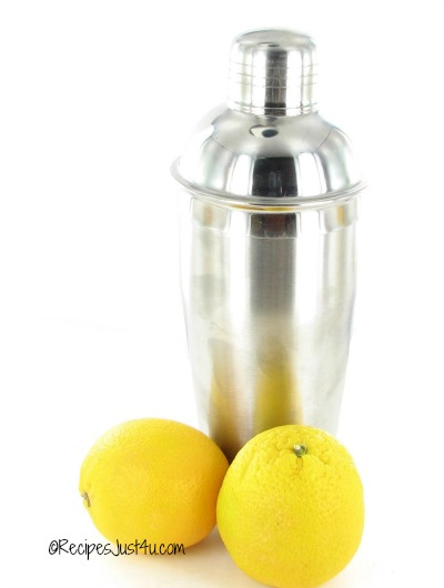 Save your cocktail shaker for citrus drinks