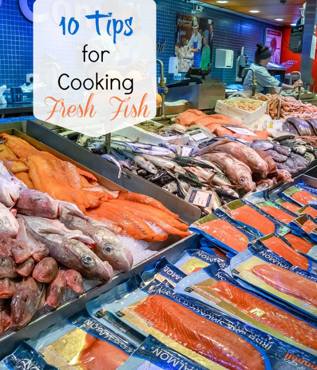 Don't think you like fish? Maybe you are not cooking it correctly. See my 10 tips for cooking fresh fish.