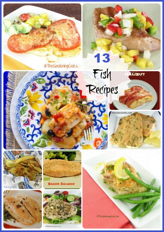 Don't think you like fish? Think again. Here are 13 delicious fish recipes.