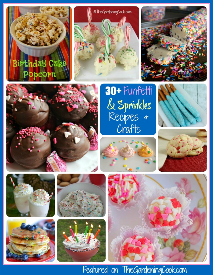 Funfetti and Sprinkles, recipes, drinks and crafts