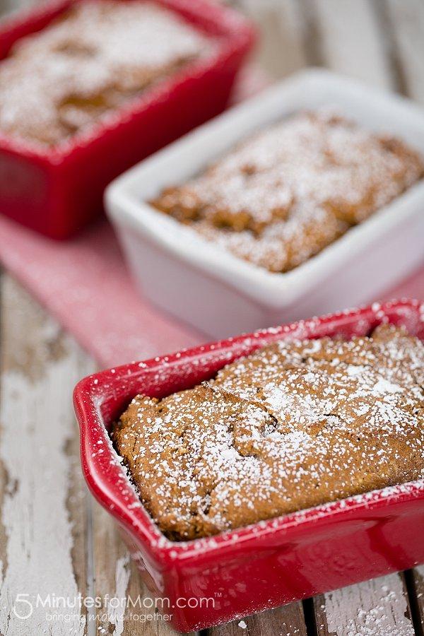 Gluten free pumpkin bread from 5minutesformom.com
