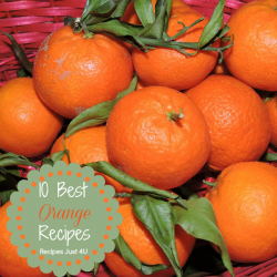 10 Best Orange Recipes - recipesjust4u.com/