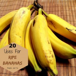 20 Uses for Ripe Bananas
