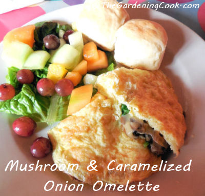 how to make onion omelette