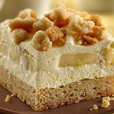 Banana Cream Squares