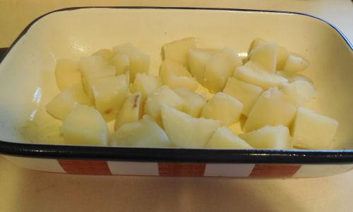 potatoes to casserole