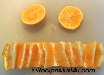 Peeling an orange is easy with this neat trick.