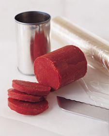 Slice tomato paste