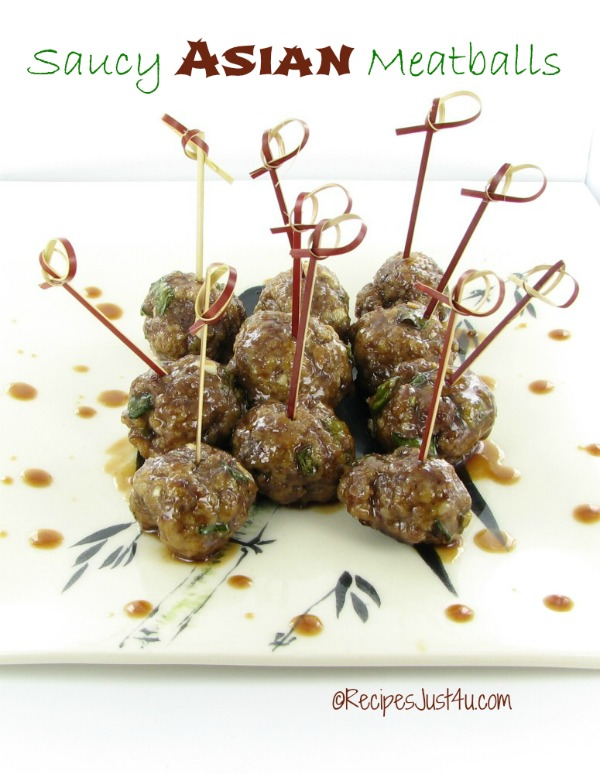 These saucy Asian meatballs make the perfect party appetizer