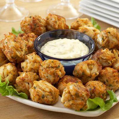 Crispy Crab Ball Appetizers Recipes Just 4u
