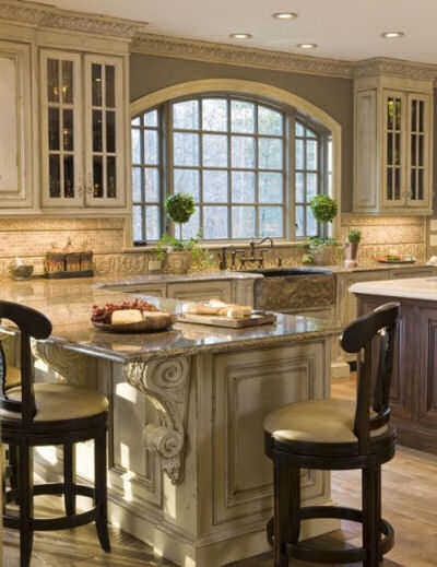 Habersham kitchen with great attention to detail
