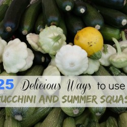 25 ways to use zucchini and summer squash