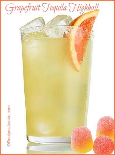 Grapefruit Tequila Highball