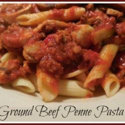 Ground Beef & Penne Pasta