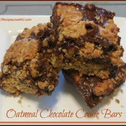 Oatmeal Chocolate cookie Bar