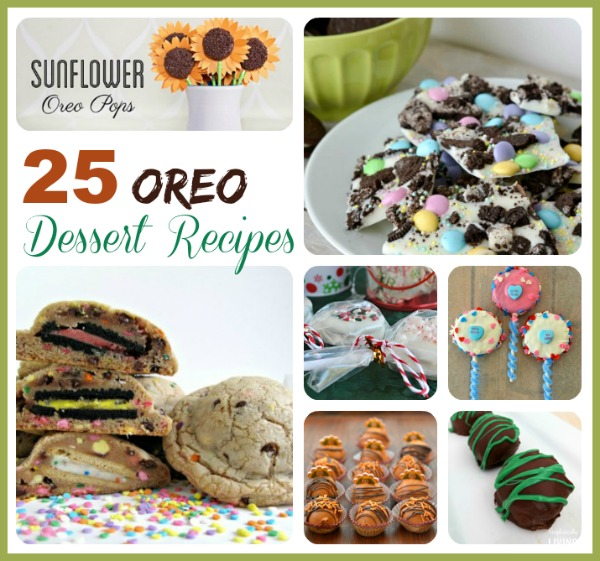 25 Oreo Dessert Recipes