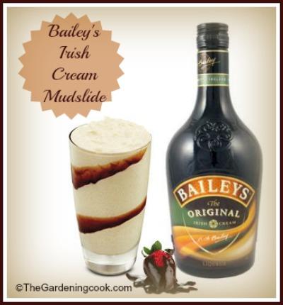 Baileys Irish Cream Mudslide Cocktail