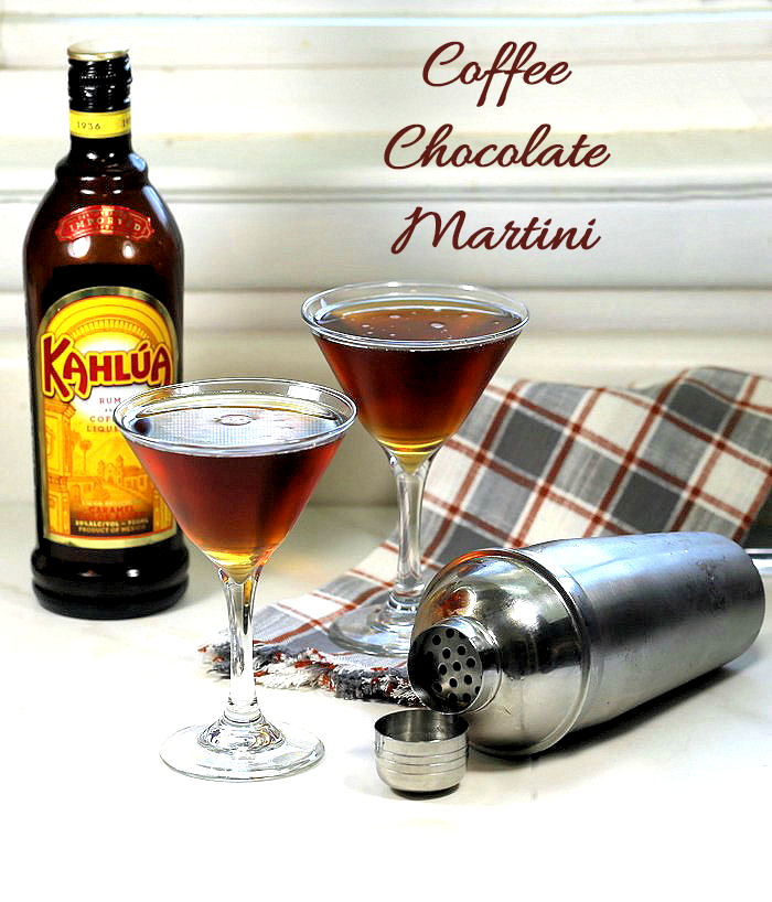 Coffee Chocolate Martini is the perfect cocktail for coffee lovers