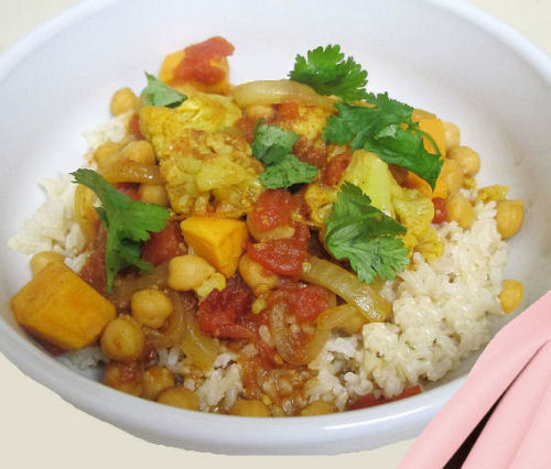 Crock pot vegetable curry - the gardeningcook.com