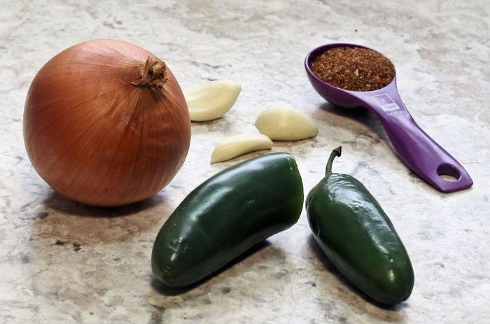 Ingredients for enchilada seasoning