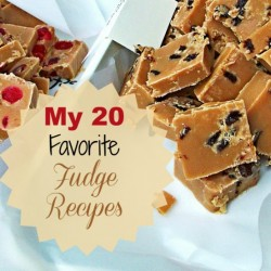 My 20 favorite fudge recipes