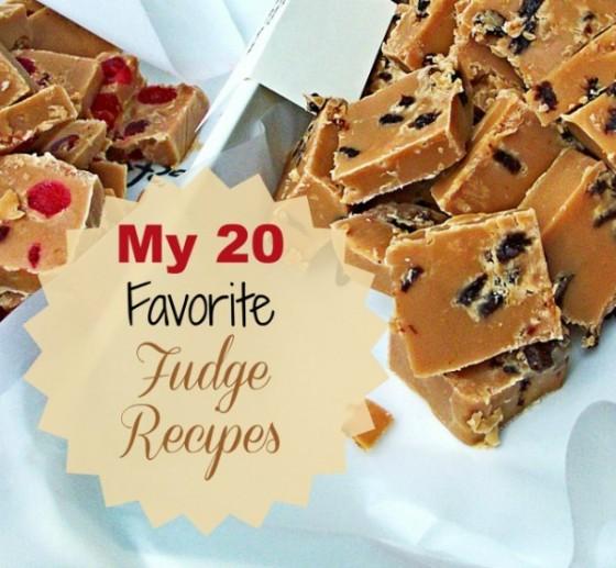 My 20 favorite fudge recipes