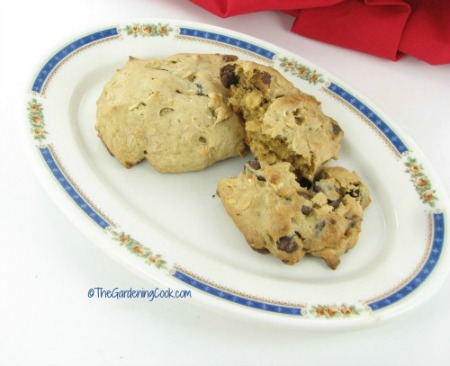 gluten free peanut butter chocolate chip cookie from thegardeningcook.com