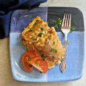 Plate of lasagna rollups