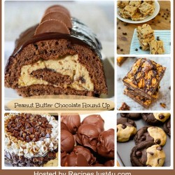 Round up of Peanut Butter and Chocolate Desserts