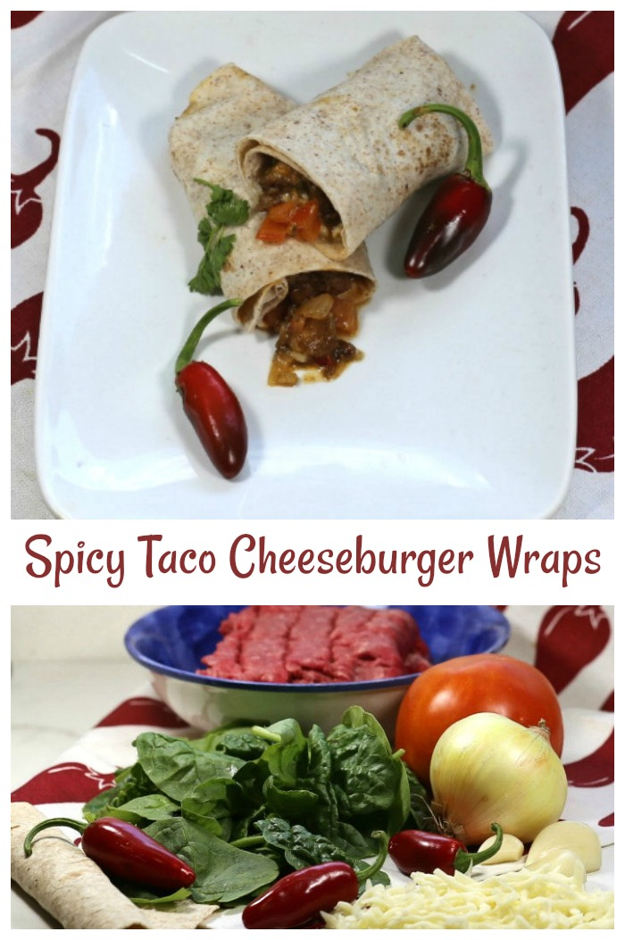 time to make these ground beef tortilla wrap recipe - easy 30 minute meal