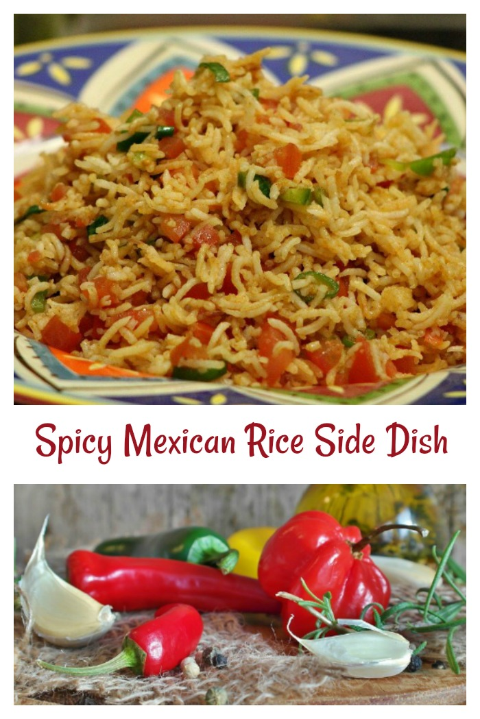 spicy Mexican Rice Side Dish