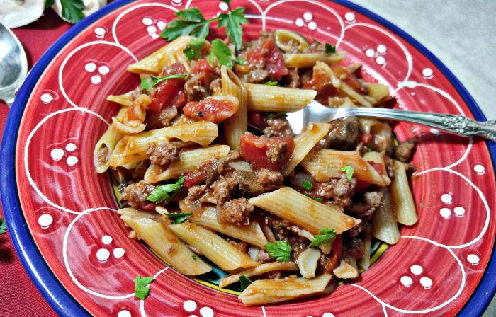 tasting this penne pasta recipe