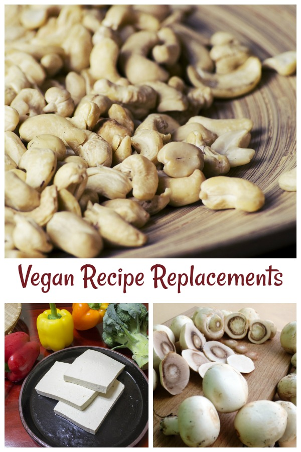 Vegan Recipe Reploacements