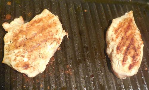 Cumin Grilled Chicken breasts