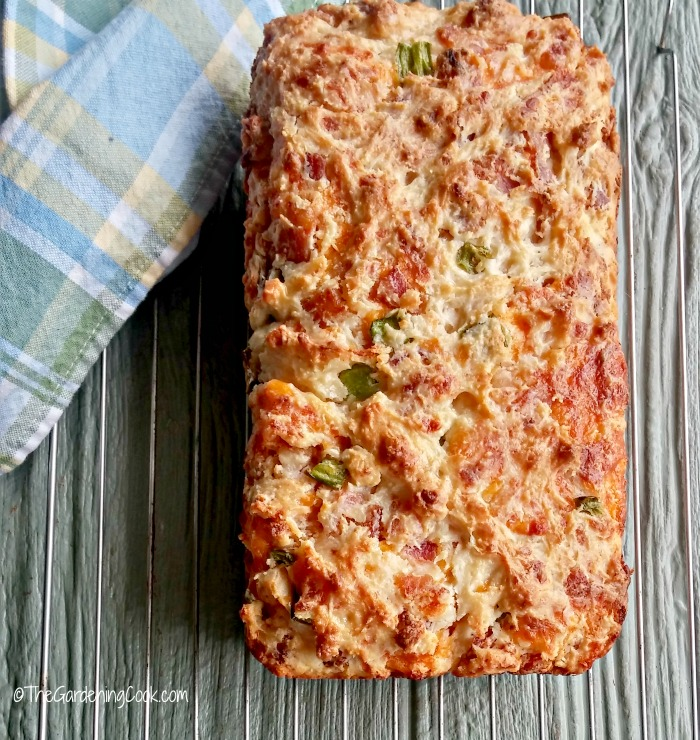 Bacon Jalapeño cheese bread