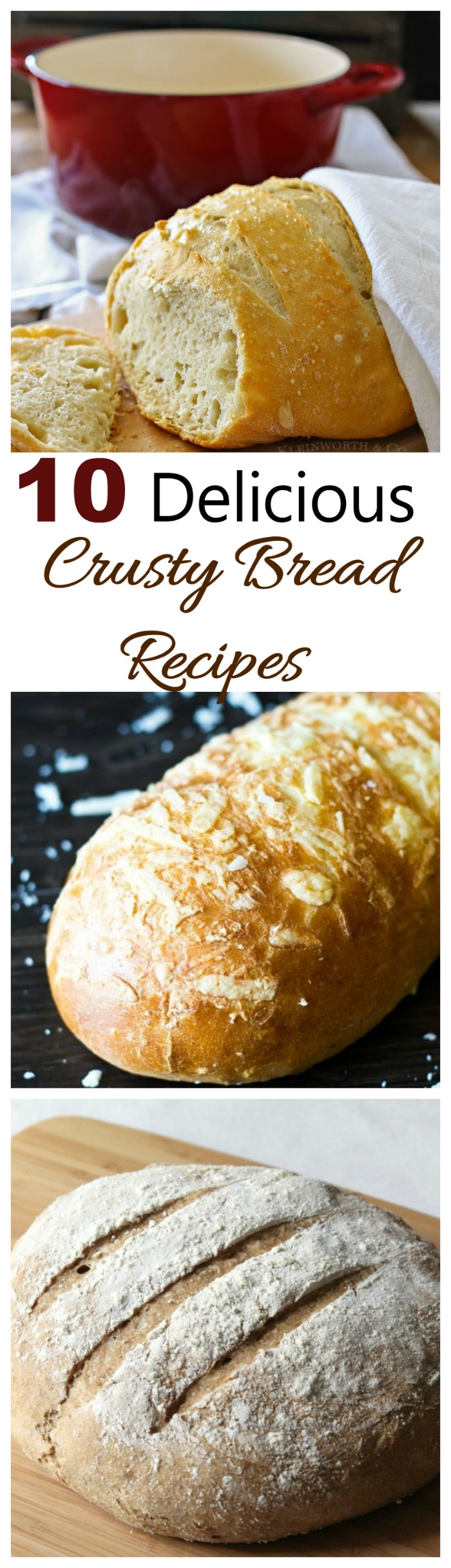 These crusty artisan breads are crunchy on the outside with a warm and flavorful center. They are easier to make than you might think!
