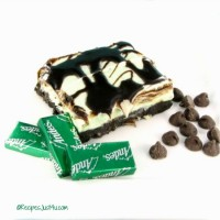 No Back Oreo Mint Cheesecake Bars