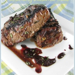 Grilled Rosemary Balsamic Steak