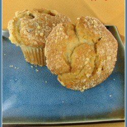 Banana Nut Muffins with Streusel topping