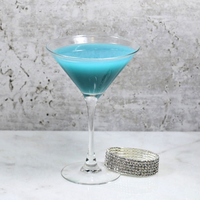 Cinderella Glass Slipper Cocktail
