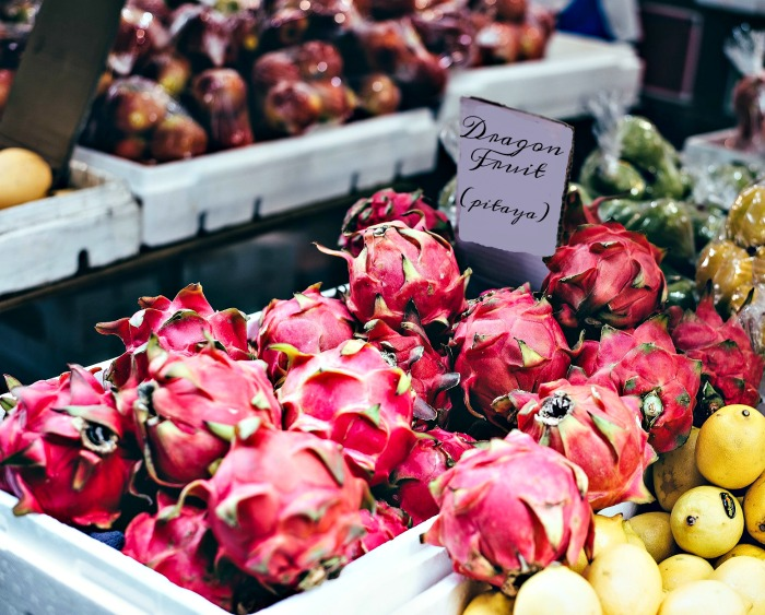 Dragon fruit for sale