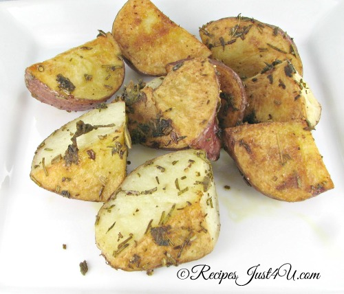 Roasted Red Potatoes with Fresh  Herbs